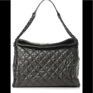 Chanel calfskin Quilted Large Chain Me Hobo Bag